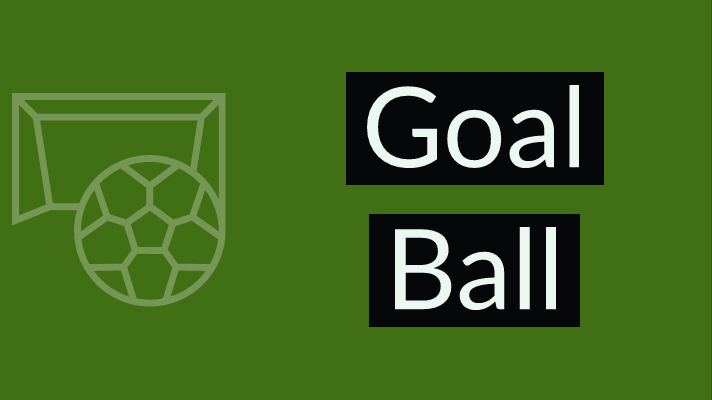 Goal Ball illustration