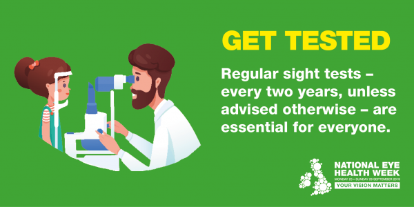National Eye Health Week get tested image