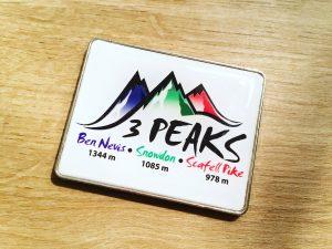 Three Peaks Challenge badge