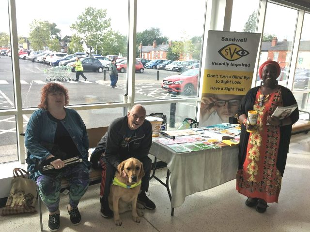 SVI members at ASDA Cape Hill