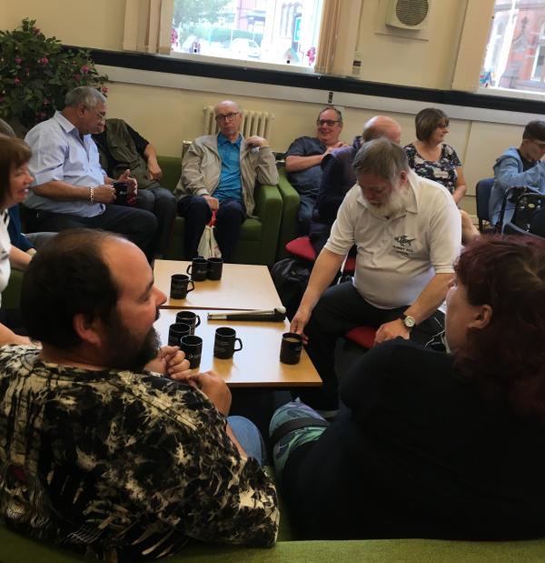 Tea and toast meeting