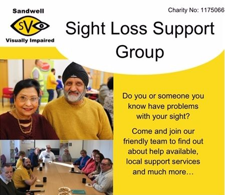 Sight loss support group
